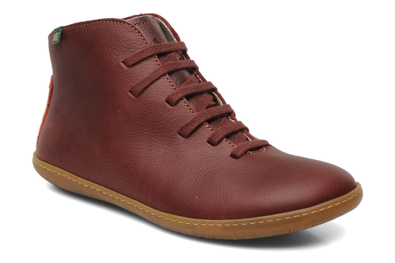 Chaussures à lacets El Naturalista Viajero N267 W Bordeaux vue détail/paire