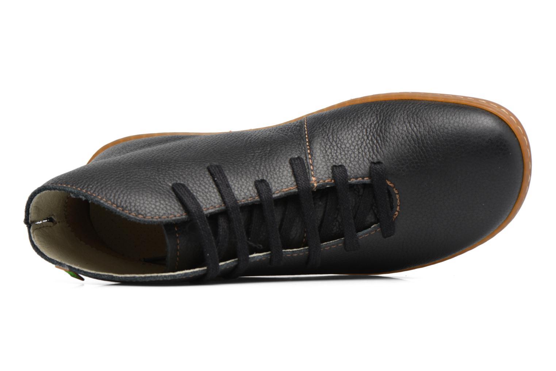 Chaussures à lacets El Naturalista Viajero N267 W Noir vue gauche