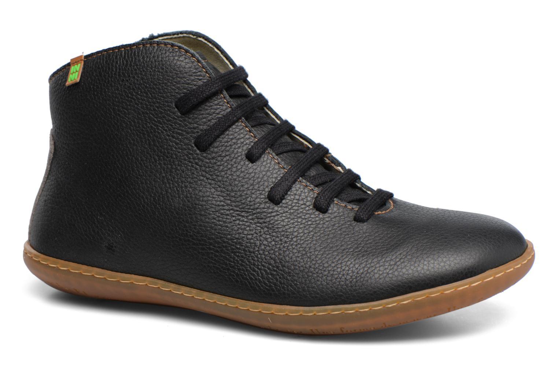 Chaussures à lacets El Naturalista Viajero N267 W Noir vue détail/paire
