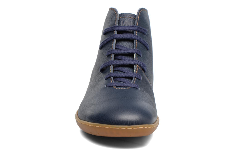 Zapatos con cordones El Naturalista Viajero N267 W Azul vista del modelo