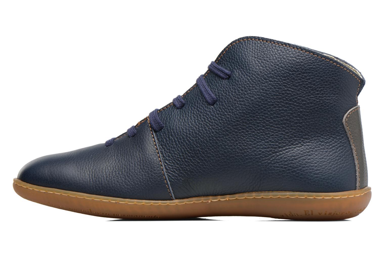Zapatos con cordones El Naturalista Viajero N267 W Azul vista de frente