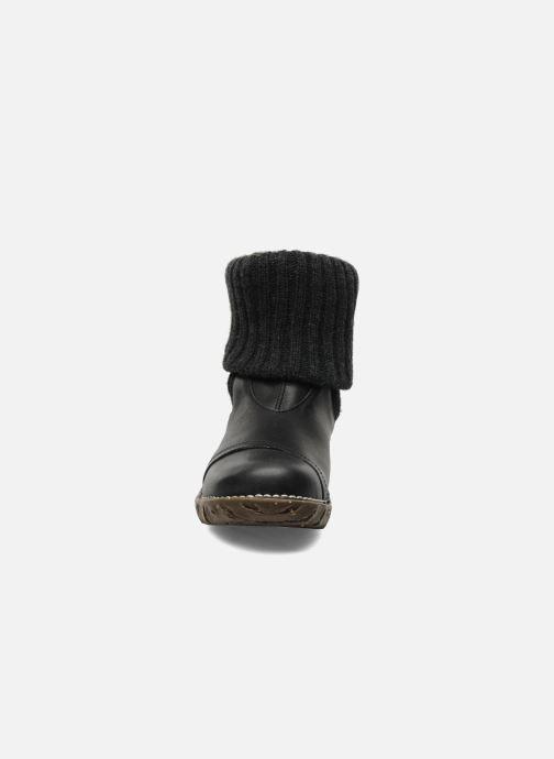 Ankle boots El Naturalista Iggdrasil N097 Black model view