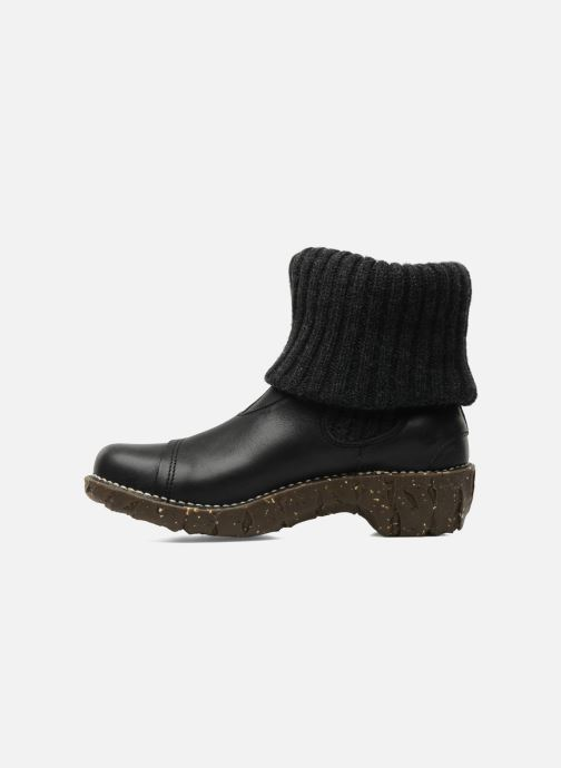 Ankle boots El Naturalista Iggdrasil N097 Black front view