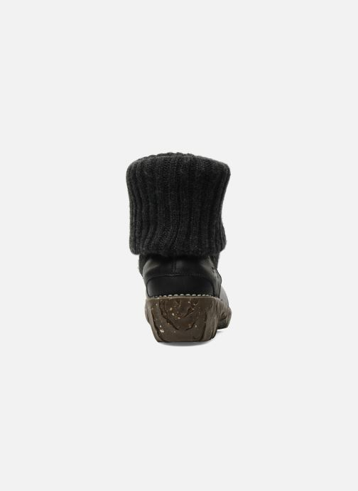 Ankle boots El Naturalista Iggdrasil N097 Black view from the right