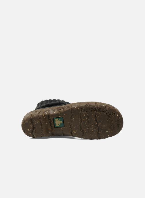 Stiefeletten & Boots El Naturalista Iggdrasil N097 schwarz ansicht von oben