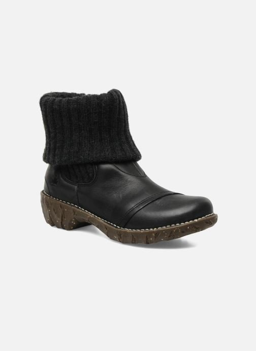Ankle boots El Naturalista Iggdrasil N097 Black detailed view/ Pair view