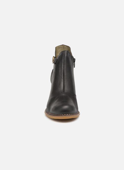 Bottines et boots El Naturalista Colibri N472 Noir vue portées chaussures