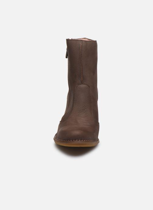 Ankle boots El Naturalista Colibri N473 Brown model view