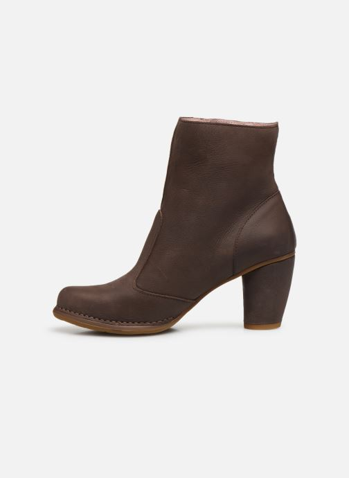 Ankle boots El Naturalista Colibri N473 Brown front view