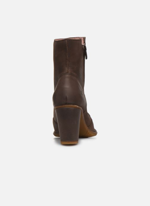 Ankle boots El Naturalista Colibri N473 Brown view from the right