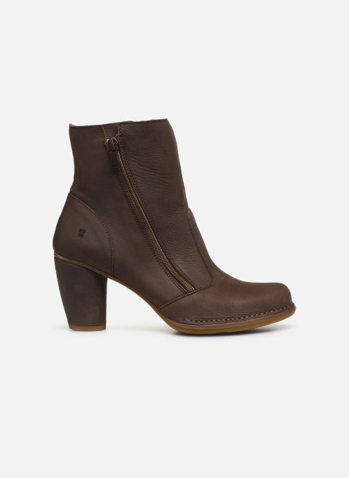 Ankle boots El Naturalista Colibri N473 Brown back view