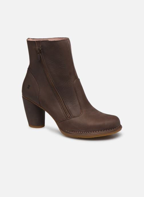 Ankle boots El Naturalista Colibri N473 Brown detailed view/ Pair view