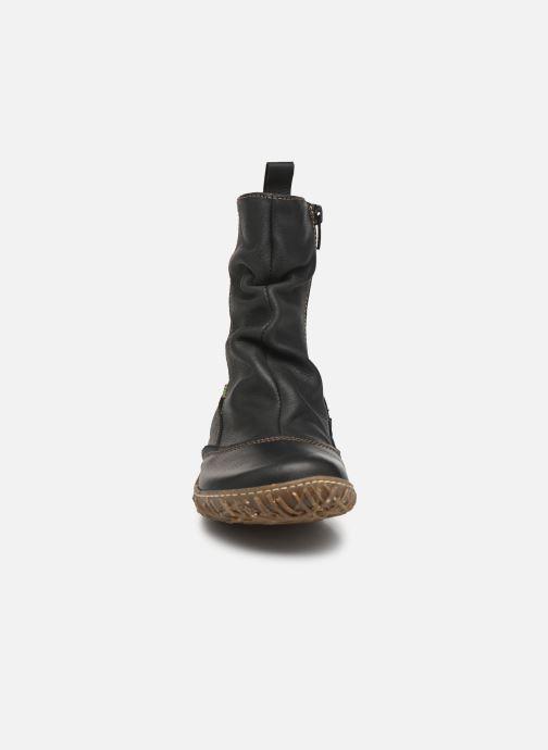 Ankle boots El Naturalista Nido Ella N722 Black model view