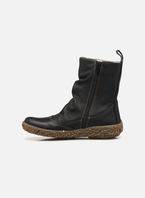 Ankle boots El Naturalista Nido Ella N722 Black front view