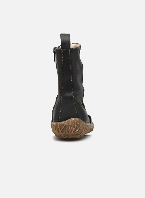 Ankle boots El Naturalista Nido Ella N722 Black view from the right
