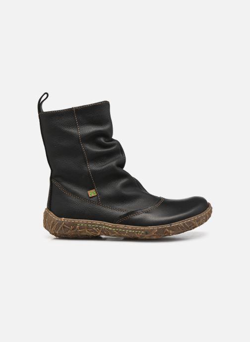 Ankle boots El Naturalista Nido Ella N722 Black back view