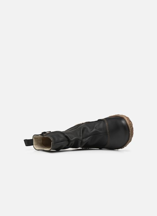 Ankle boots El Naturalista Nido Ella N722 Black view from the left