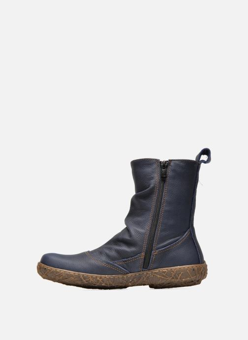 Ankle boots El Naturalista Nido Ella N722 Blue front view
