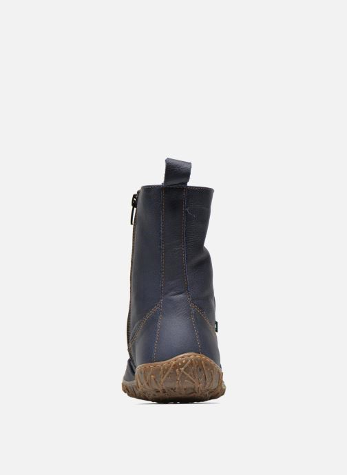 Ankle boots El Naturalista Nido Ella N722 Blue view from the right