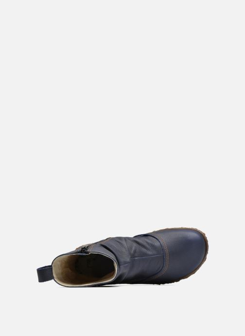 Ankle boots El Naturalista Nido Ella N722 Blue view from the left