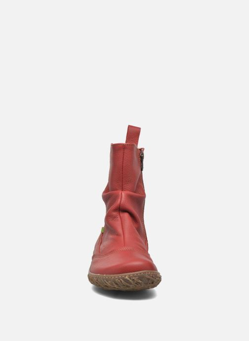 Ankle boots El Naturalista Nido Ella N722 Red model view