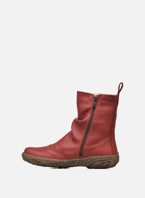 Ankle boots El Naturalista Nido Ella N722 Red front view