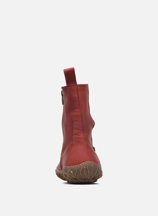 Bottines et boots El Naturalista Nido Ella N722 Rouge vue droite