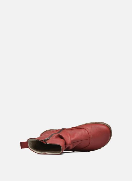 Ankle boots El Naturalista Nido Ella N722 Red view from the left