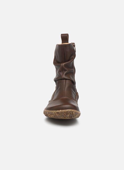 Ankle boots El Naturalista Nido Ella N722 Brown model view