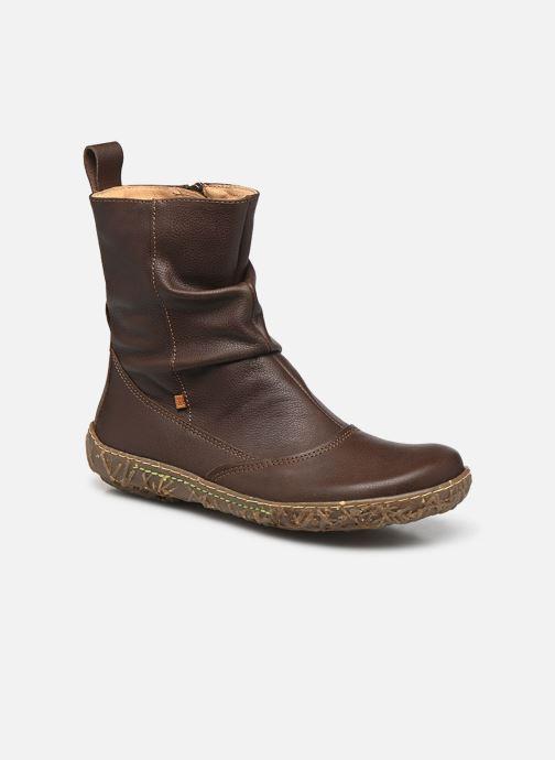Ankelstøvler El Naturalista Nido Ella N722 Brun detaljeret billede af skoene