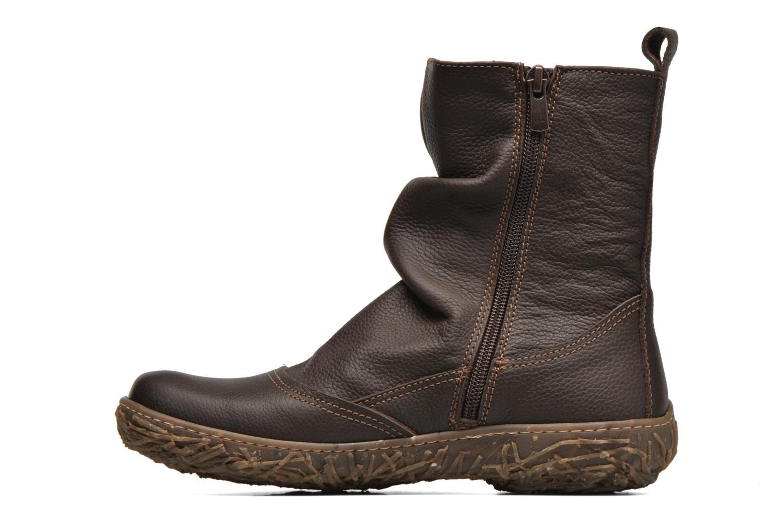 Ankle boots El Naturalista Nido Ella N722 Brown front view