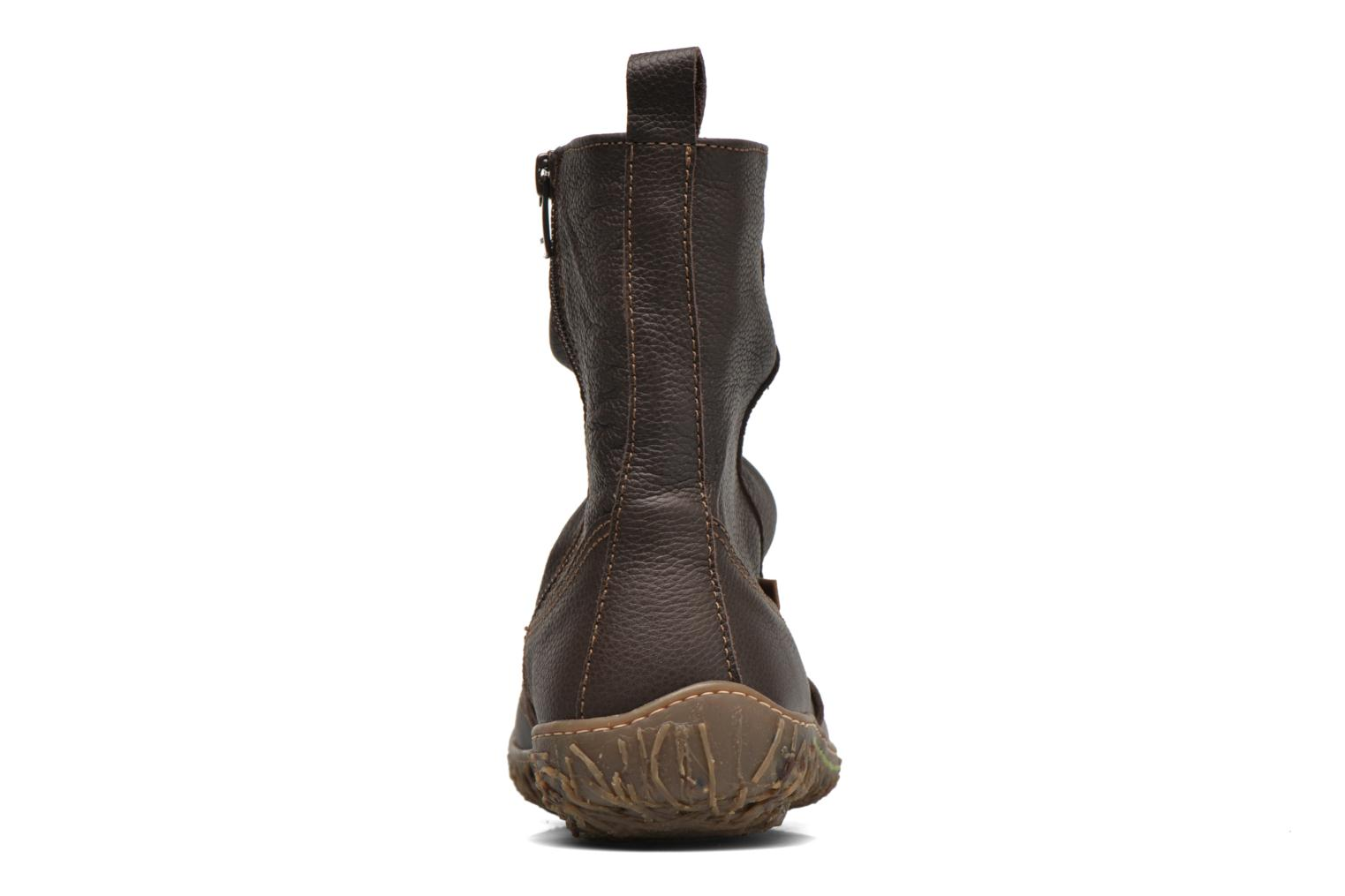 Ankle boots El Naturalista Nido Ella N722 Brown view from the right
