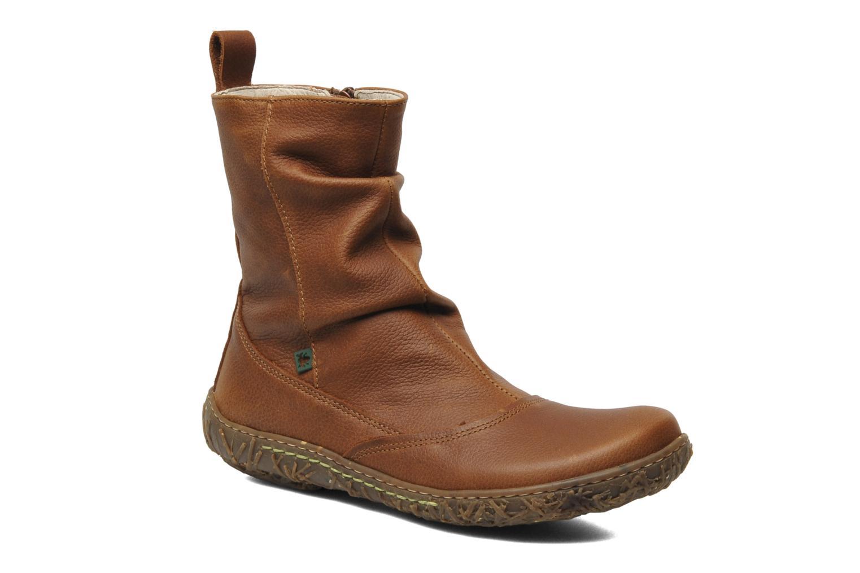 Ankle boots El Naturalista Nido Ella N722 Brown detailed view/ Pair view