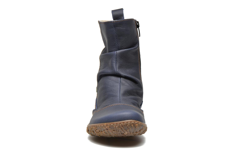 Stiefeletten & Boots El Naturalista Nido Ella N722 blau schuhe getragen