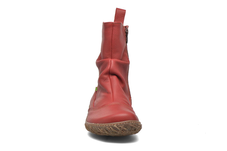 Bottines et boots El Naturalista Nido Ella N722 Rouge vue portées chaussures