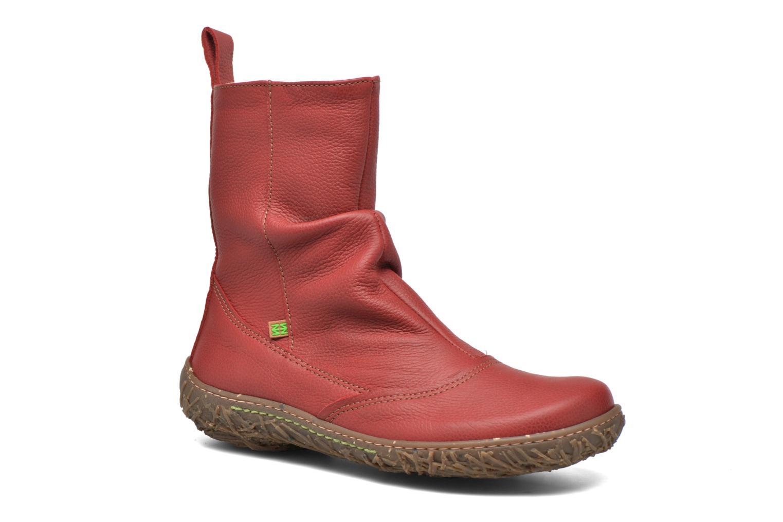 Bottines et boots El Naturalista Nido Ella N722 Rouge vue détail/paire