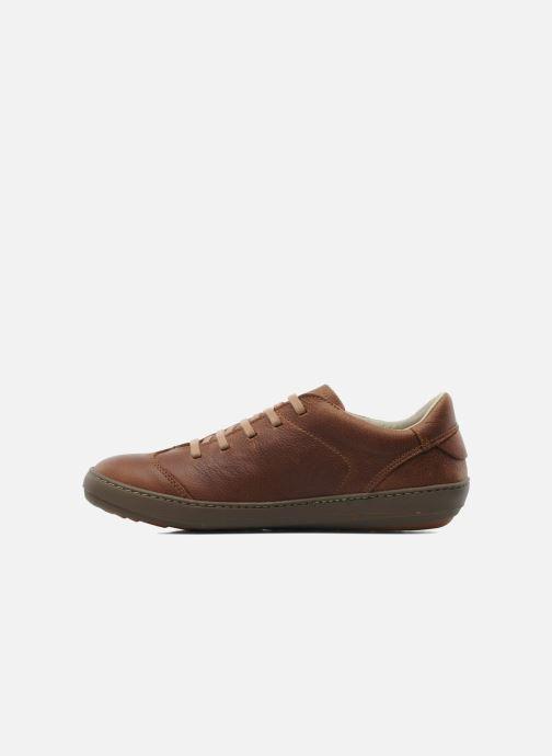 Chaussures à lacets El Naturalista Meteo N211 Marron vue face