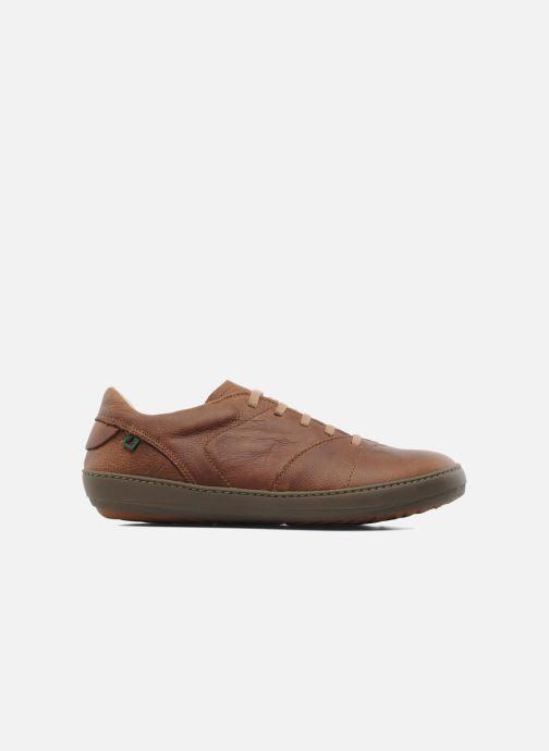 Chaussures à lacets El Naturalista Meteo N211 Marron vue derrière