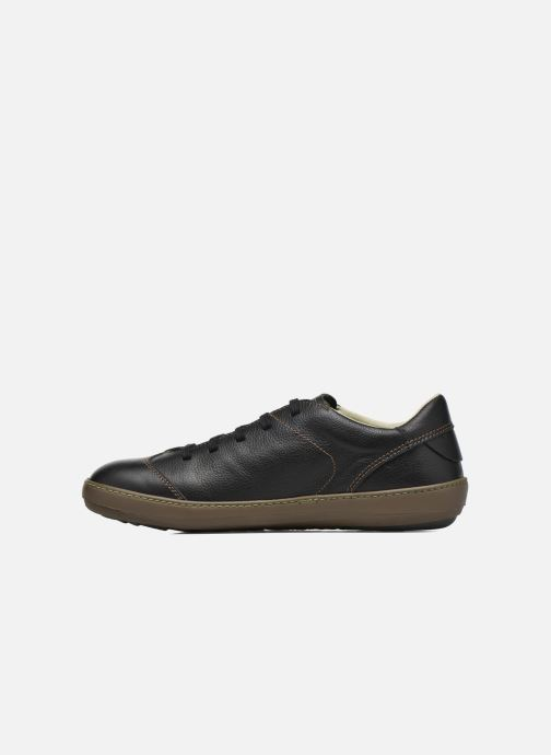Lace-up shoes El Naturalista Meteo N211 Black front view
