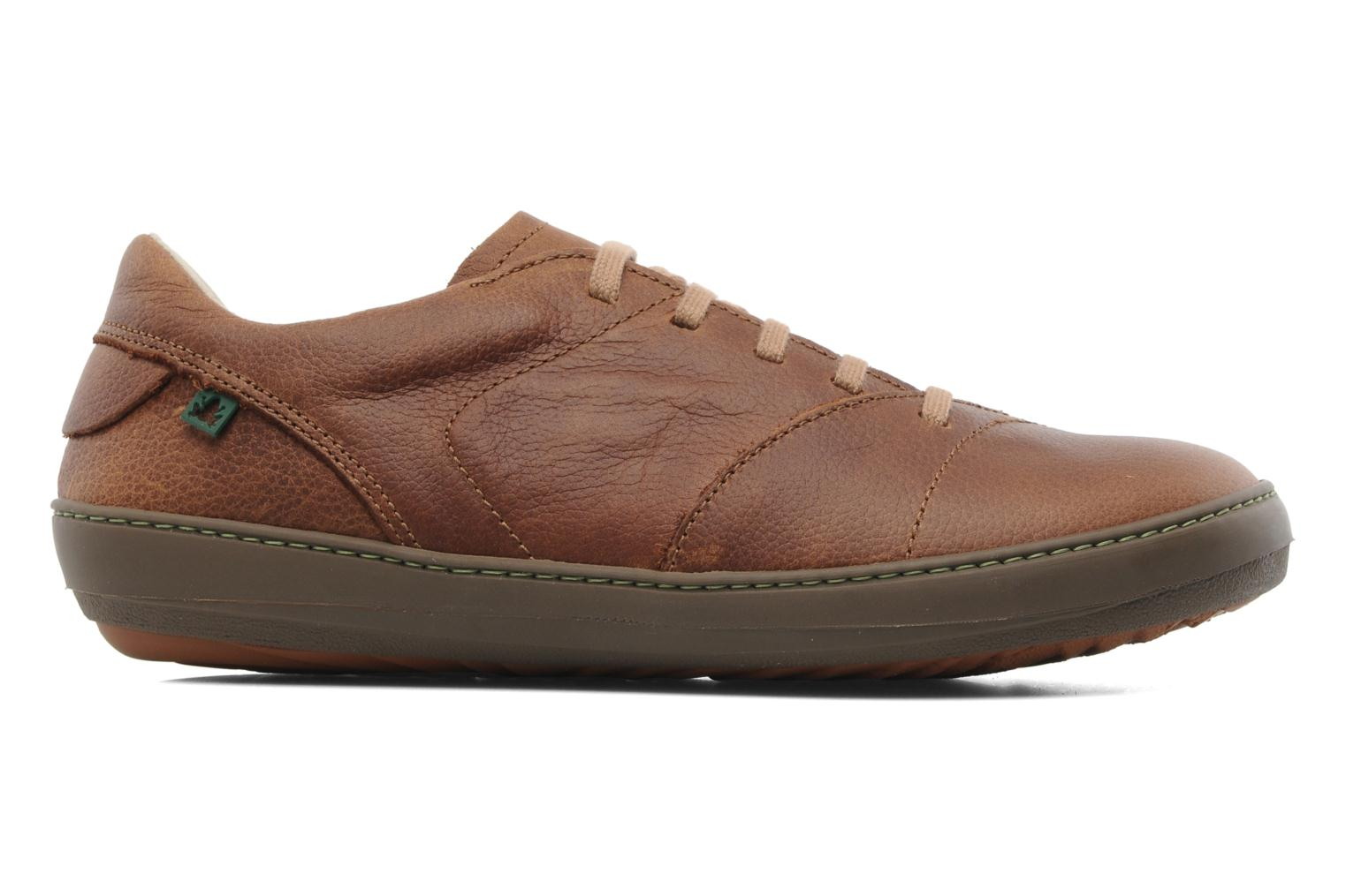 Lace-up shoes El Naturalista Meteo N211 Brown back view