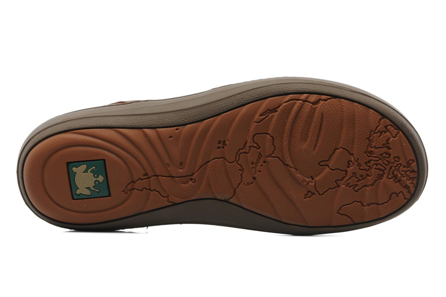 Lace-up shoes El Naturalista Meteo N211 Brown view from above