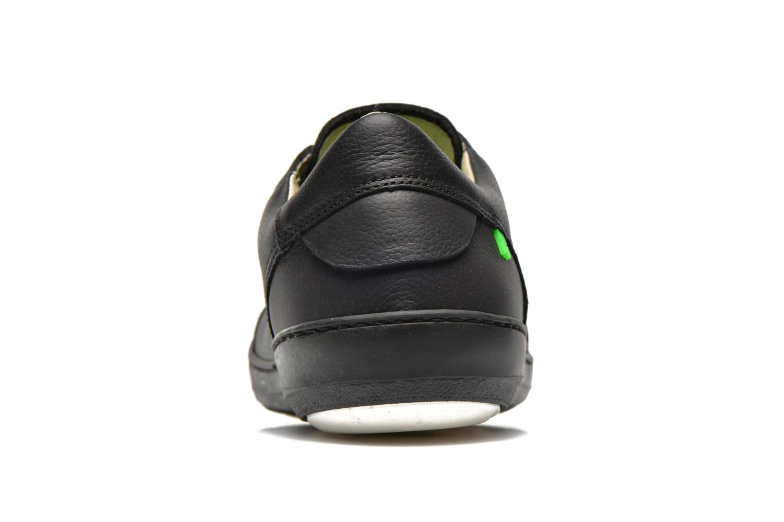 Lace-up shoes El Naturalista Meteo N211 Black view from the right