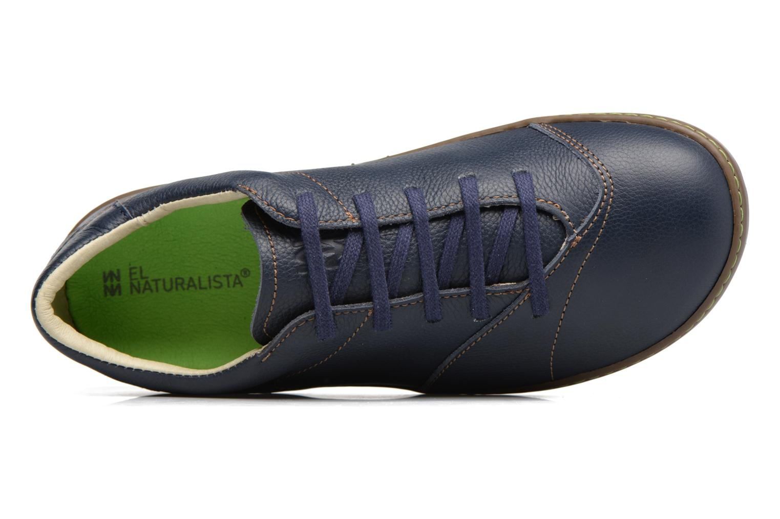 Lace-up shoes El Naturalista Meteo N211 Blue view from the left