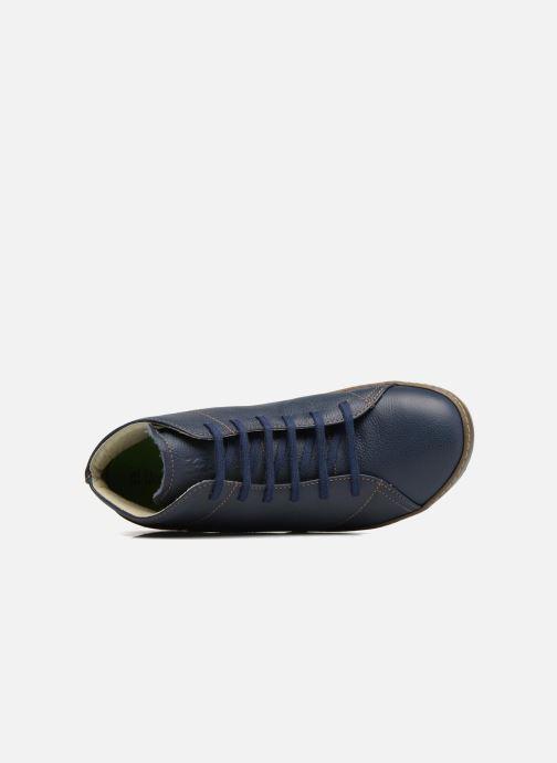 Chaussures à lacets El Naturalista Meteo N212 Bleu vue gauche