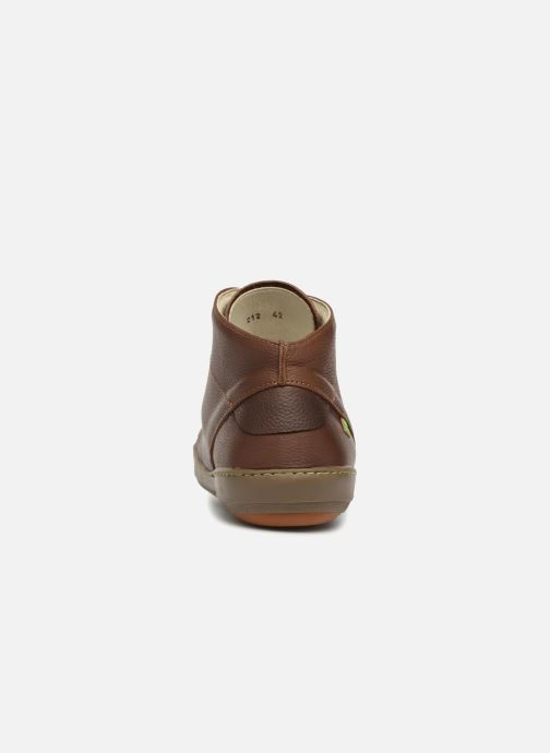 Chaussures à lacets El Naturalista Meteo N212 Marron vue droite