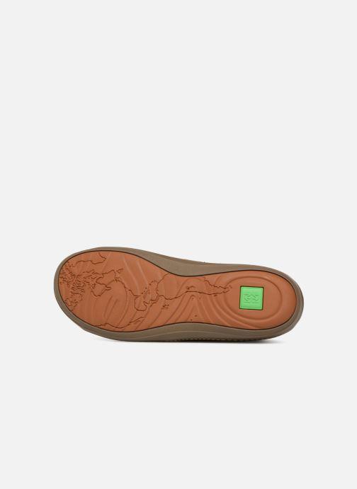 Chaussures à lacets El Naturalista Meteo N212 Marron vue haut