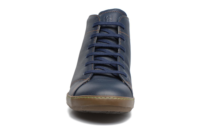 Chaussures à lacets El Naturalista Meteo N212 Bleu vue portées chaussures