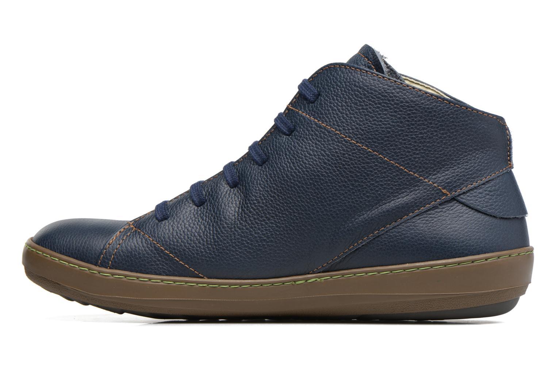 Chaussures à lacets El Naturalista Meteo N212 Bleu vue face