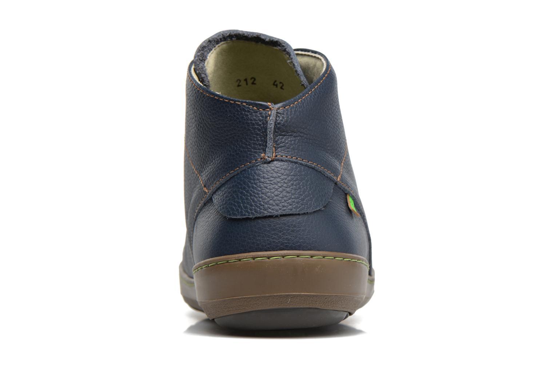 Chaussures à lacets El Naturalista Meteo N212 Bleu vue droite