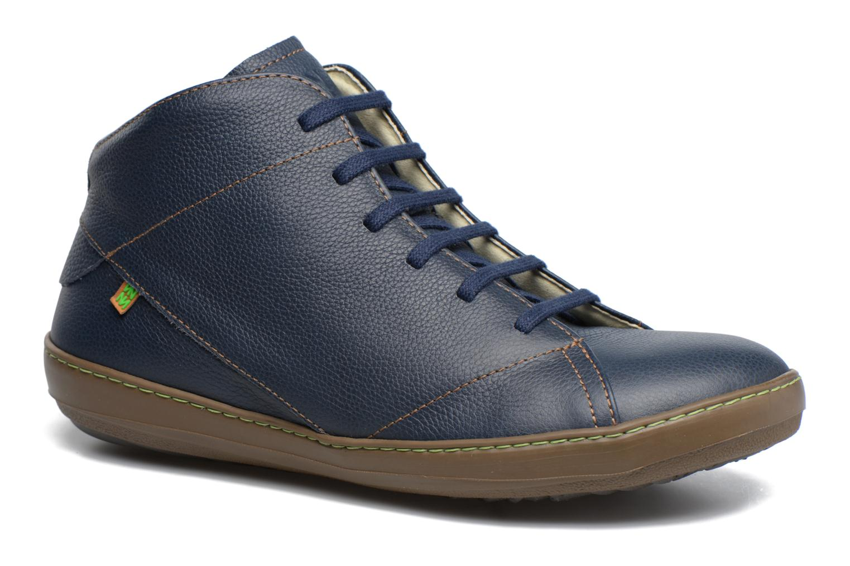 Snøresko El Naturalista Meteo N212 Blå detaljeret billede af skoene